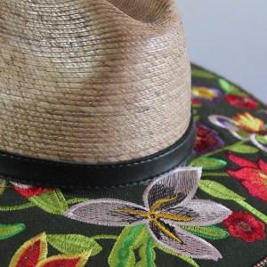 Chapeau le jardin d'été zoom