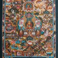Buddha Story Mandala Painting