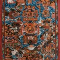 Buddha Life Thangka Painting