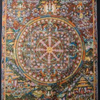 Buddhist Thangka Painting