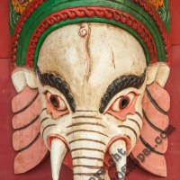 Wooden Mask of Ganesh