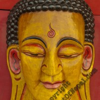 Hand made Mask of Buddha