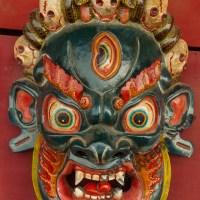 Newar Masks of Bhairab