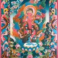 Red Tara Tangka