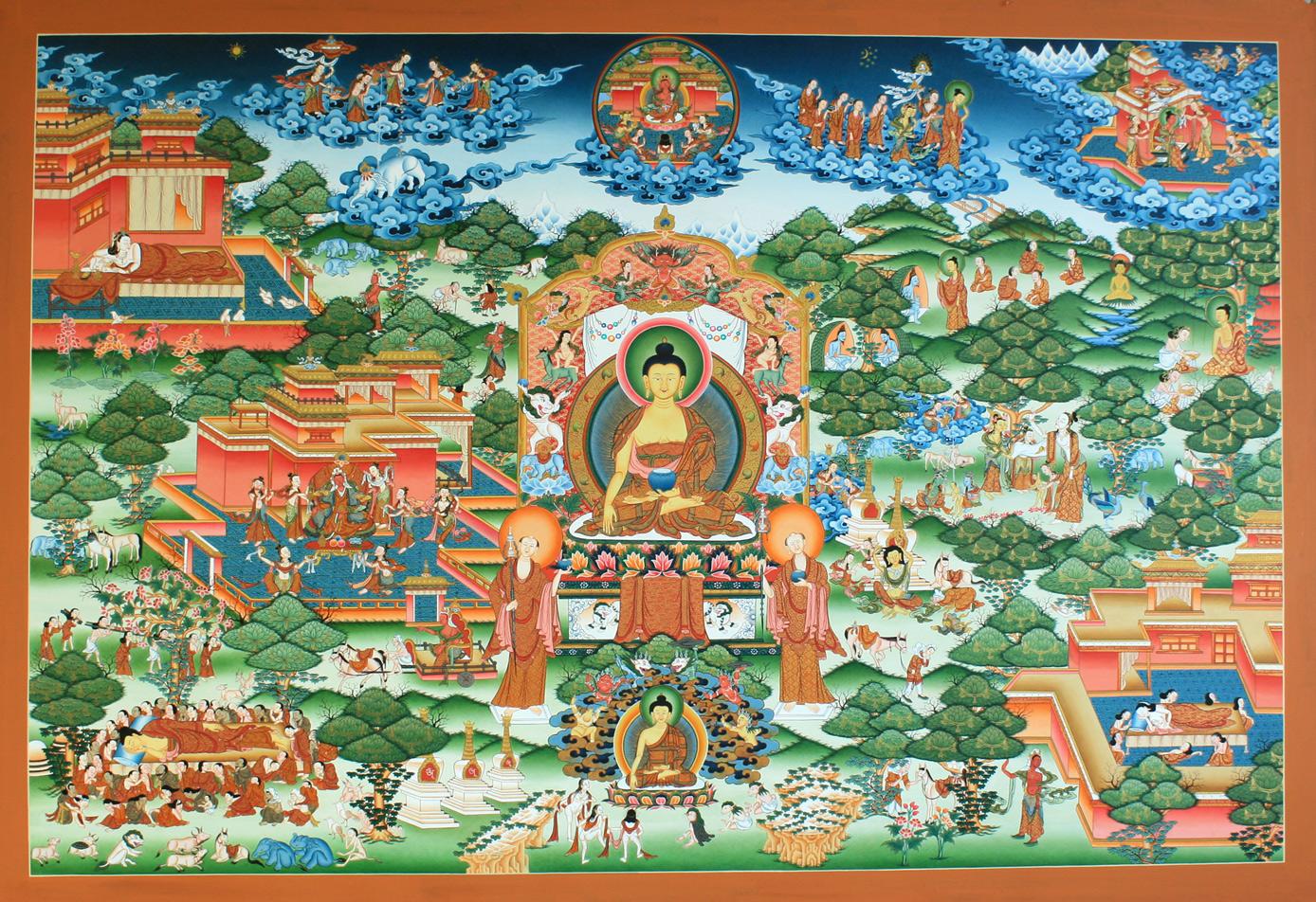 Buddha Thanka Painting