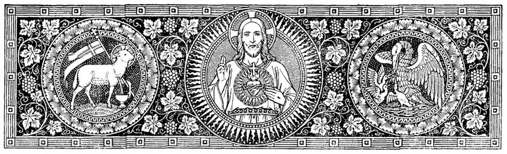 Image result for catholic line art