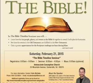 Jeff Cavins Somerville NJ _Great Adventure Bible Series