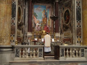 Catholic Masses Are Now Offered At Side Altars In Many Cathedrals