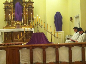 Spy Wednesday - Liturgical Office of Tenabrae @ Saint Anthony of Padua West Orange NJ