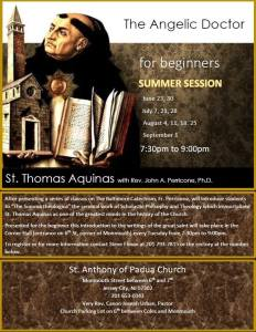 Catholic Theology Intro To Thomas Acquinas