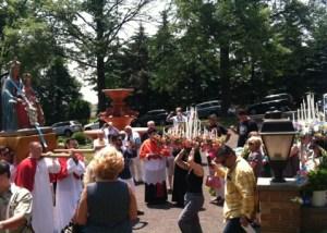 Holy Face Monastery - Solemn Mass Clifton - NJ- SacroMonte2015Version01