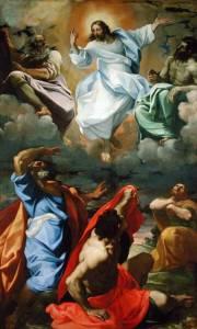 ALG169046 The Transfiguration, 1594-95 (oil on canvas) by Carracci, Lodovico (1555-1619) oil on canvas 438x268 Pinacoteca Nazionale, Bologna, Italy Alinari Italian, out of copyright