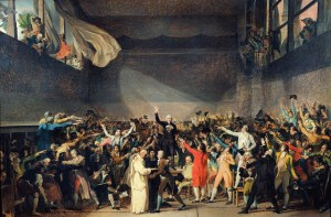 The Tennis Court Oath 1789