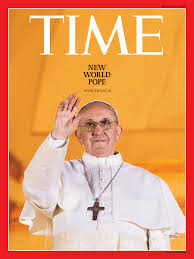 New World Pope On The Cover Of Time