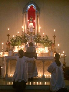 Guadalajara Rorate Caeli - Advent Mass Before Dawn By Candlelight Only
