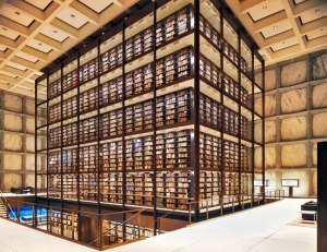 Beinecke Rare Book and Manuscript Library-at--yale-university