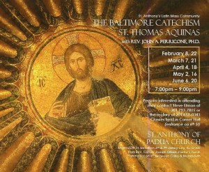 Catholic Philosophy & Theology Class With Father John Perricone_03