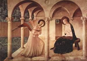 The Angel Gabriel And The Annuncation