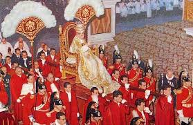 Pius XII Carried In Sedia Gestatoria