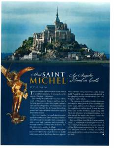 Mount Saint Michael - An Angelic Island On Earth