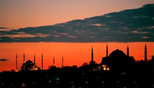 muslimmosques- Sun Setting In The East