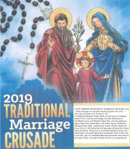 March | 2019 | Traditional Catholics Emerge