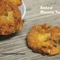 Baked Masala Vadai | Baked Paruppu Vadai