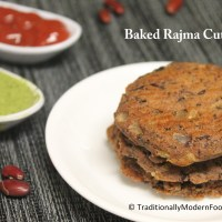 Baked Rajma Cutlet | Vadai | Patties