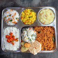 Aadi perukku lunch | Aadi 18 lunch menu | seemandham kalandha sadam