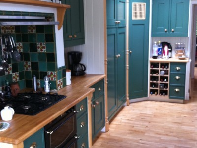 Ideas For Hand Painted Kitchens New Kitchens Refurbished