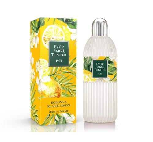 Eyup Sabri Tuncer Lemon Cologne 400 ml - Glass Bottle