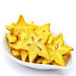 Organic Dried Carambola - Star Fruit 30g