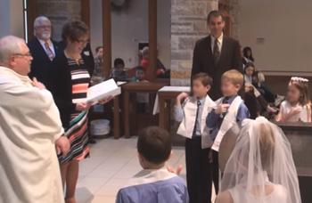 renovación de los votos bautismales