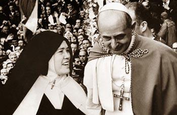 Pablo VI Sor Lucía