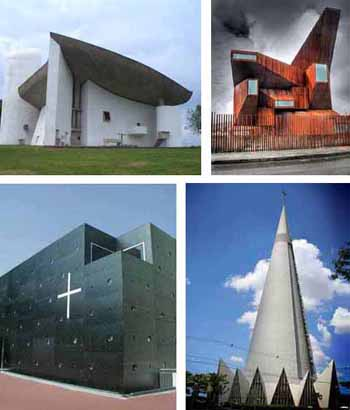 Ugly modern architecture Iglesias del Infierno