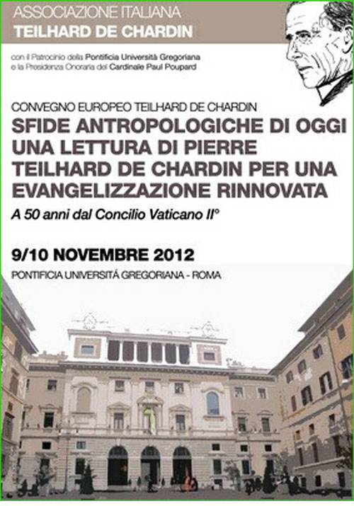 Conferencia de Teilhard de Chardin 01