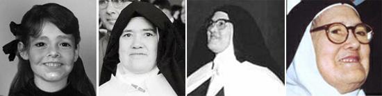 Regresión en las fotos de la Hermana Lucía II