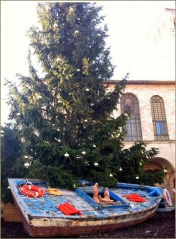 Árbol de Navidad Assisi- 2013