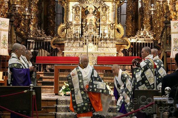 Profanación en Santiago Compostela 1