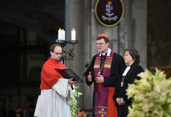 Cardenal Rainer Woelki - Servicio Interreligioso 01