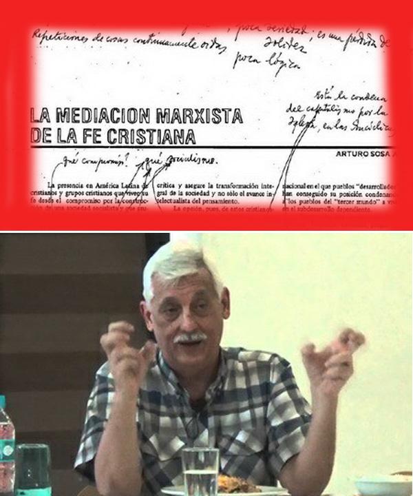 P.  Arturo Sosa y el marxismo