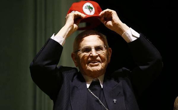 El cardenal Paulo Evaristo Arns 1