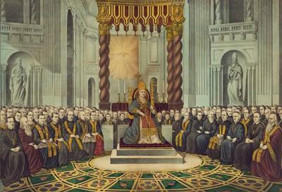 Pío IX presidir Concilio Vaticano I