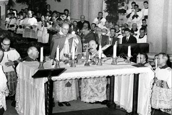 Primera misa novus ordo Pablo VI