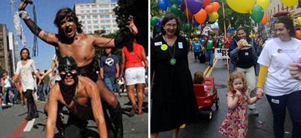 los desfiles del orgullo gay de cuero