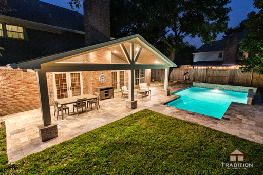 katy covered patio tradition outdoor