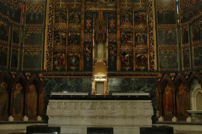empty tabernacle