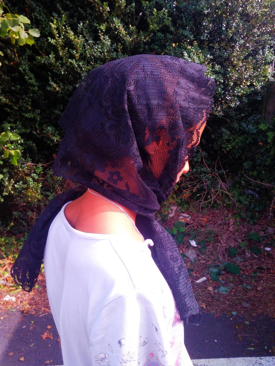 Schal - franst nicht aus
