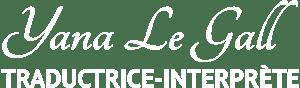 logo Yana Le Gall blanc