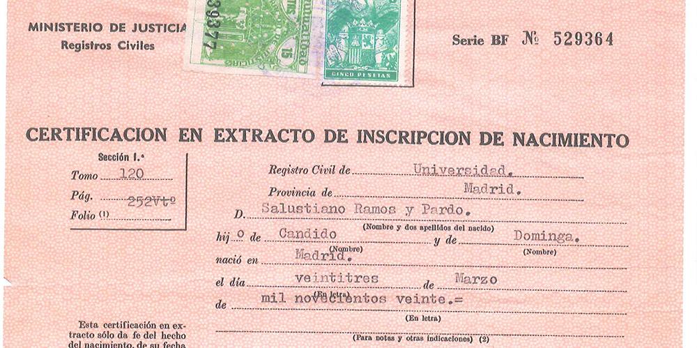 La traducción del certificado de nacimiento - Traductores Oficiales